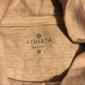 62d315908e Athleta Dresses - Athleta Eco Wash Turtleneck Sweatshirt Dress